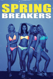 Spring Breakers Movie Poster Affiches