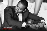 Chris Brown Music Poster Poster