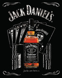 Jack Daniels Jacks are Better Poster Posters