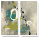 Jade Retro Prints by Laurie Maitland