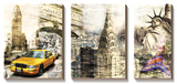 Downtown New York Prints by Bresso Sola