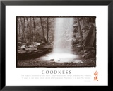 Goodness: Waterfall Posters