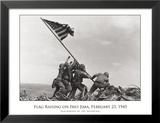 Flag Raising on Iwo Jima, c.1945 Art by Joe Rosenthal