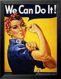 We Can Do It! (Rosie the Riveter) Posters av J. Howard Miller