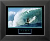 Risk: Surfer Kunstdrucke