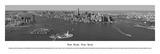 New York, New York - (Black & White) Art by James Blakeway