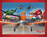 Planes Airport Poster