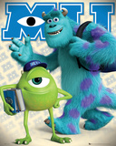 Monsters University Mike & Sulley Poster