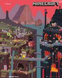 Minecraft World Affiches