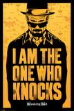 Breaking Bad - I am the one who knocks / Je suis celui qui frappe à la porte Affiche