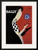 Bally Art by Bernard Villemot