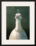 Fowl with Pearls Arte por Michael Sowa