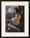 The Old Guitarist, c.1903 Posters por Pablo Picasso