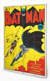 DC Comics - Batman No.1 Wood Sign Treskilt