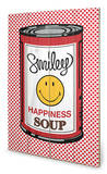 Happiness Soup Wood Sign Cartel de madera