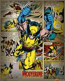 Marvel Comics - Wolverine (Retro) Plakater