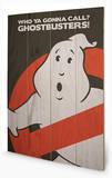 Ghostbusters - Logo Treskilt