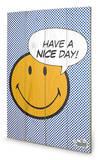 Have A Nice Day Dots Targa di legno