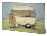 Sam Toft Home From Home Wood Sign Treskilt