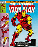 Marvel Classic - Iron Man Cover Poster