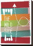The Wild Side Toile tendue sur châssis par Anthony Peters