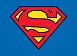 Superman Classic Logo Affiches