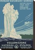 Parque Nacional Yellowstone Impressão em tela esticada