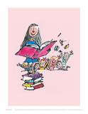 Matilda Poster by Quentin Blake
