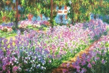 Claude Monet (Garden at Giverny) Poster