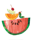 The Very Hungry Caterpillar Plakater af Eric Carle