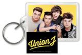 Union J - Yellow Acrylic Keychain Schlüsselanhänger