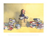 Matilda Posters by Quentin Blake