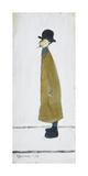 Gentleman Looking At Something, 1960 Premium Giclee-trykk av Laurence Stephen Lowry