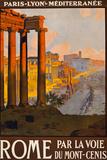 Rome Italy Tourism Travel Vintage Ad Prints