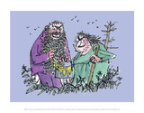 The Twits Posters by Quentin Blake