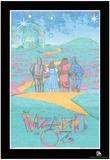 Wizard of Oz Text Poster Poster