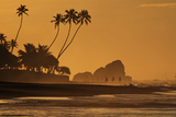 Stilt Fishermen at Sunrise Impressão fotográfica por Alex Saberi
