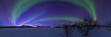 Aurora Borealis, with Jupiter and Venus in a Rare Close Conjunction Fotografisk tryk af Babak Tafreshi