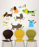 Puppy Love Wall Art Decal Kit Adesivo de parede