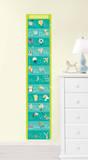 Alphabet Growth Chart Wall Decal Sticker Adesivo de parede