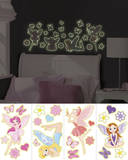 Fairies Wall Decal Sticker Appliques Adesivo de parede