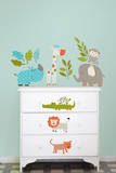 Lets Go On Safari Wall Art Decal Kit Adesivo de parede