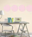Gigi Pink Dot Wall Decal Sticker Adesivo de parede