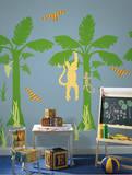 Fundango Tree ZooWallogy Wall Art Kit Adesivo de parede