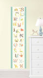 ABC Jungle Growth Chart Wall Decal Sticker Adesivo de parede