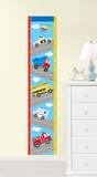 Transportation Growth Chart Wall Decal Sticker Adesivo de parede