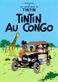 タンタンコンゴへ(1931) ポスター : エルジェ(ジョルジュ・レミ)