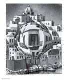 Balcony Plakater af M. C. Escher