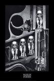 バース・マシーン アートポスター : H. R. ギガー
