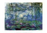 Nympheas Pósters por Claude Monet